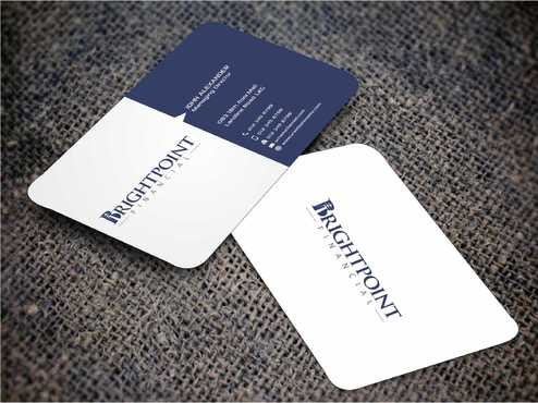 Brightpoint Financial Business Cards and Stationery  Draft # 153 by Dawson