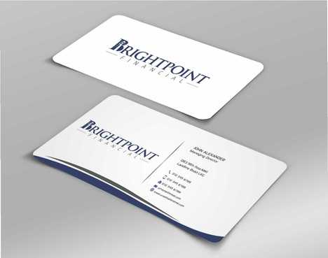 Brightpoint Financial Business Cards and Stationery  Draft # 156 by Dawson