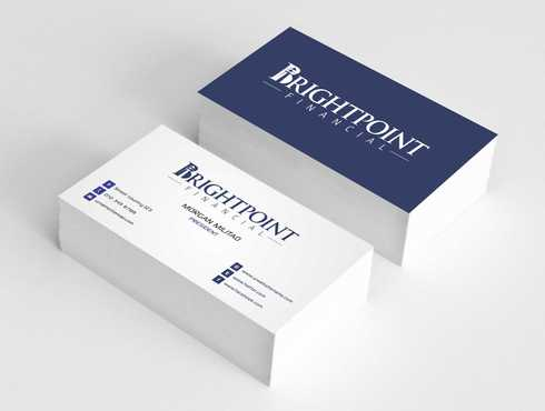 Brightpoint Financial Business Cards and Stationery  Draft # 157 by Dawson