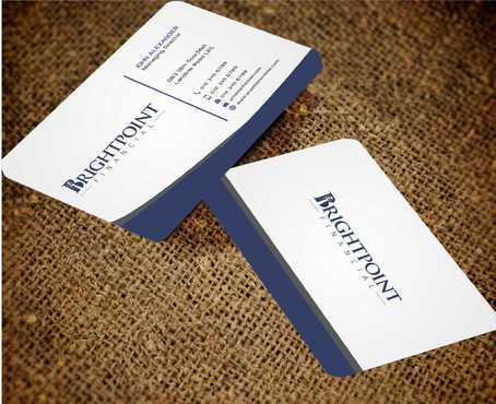 Brightpoint Financial Business Cards and Stationery  Draft # 162 by Dawson