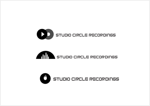 Studio Circle Recordings A Logo, Monogram, or Icon  Draft # 39 by odc69