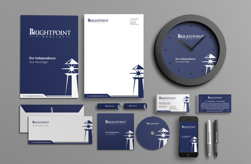 Brightpoint Financial Business Cards and Stationery  Draft # 188 by Achiver