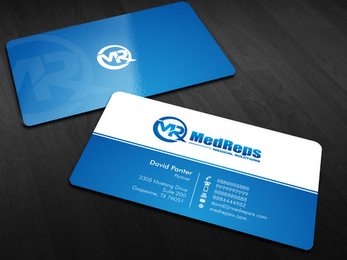 medreps bcards Business Cards and Stationery  Draft # 62 by Xpert