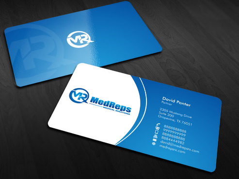 medreps bcards Business Cards and Stationery  Draft # 63 by Xpert