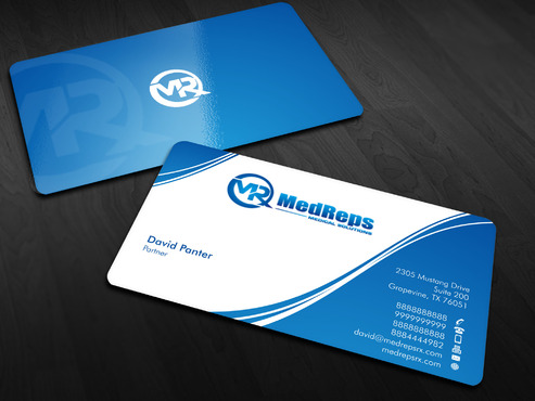 medreps bcards Business Cards and Stationery  Draft # 65 by Xpert