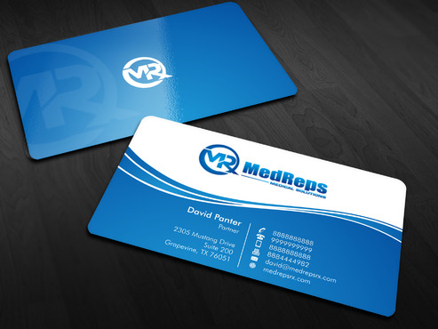 medreps bcards Business Cards and Stationery  Draft # 66 by Xpert