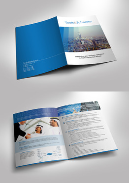 Urgent request to desgin the profile and brochure Marketing collateral  Draft # 1 by jameelbukhari