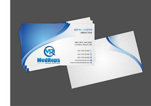 medreps bcards Business Cards and Stationery  Draft # 143 by Dawson