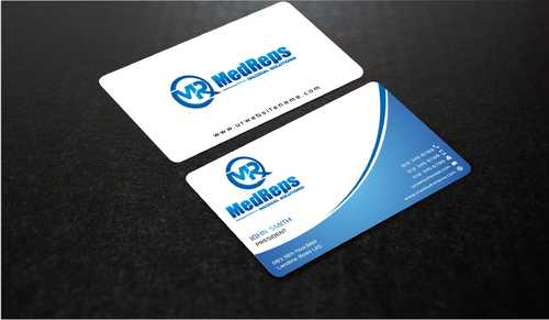 medreps bcards Business Cards and Stationery  Draft # 147 by Dawson