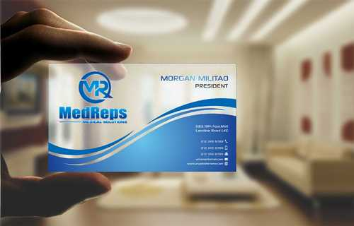 medreps bcards Business Cards and Stationery  Draft # 151 by Dawson