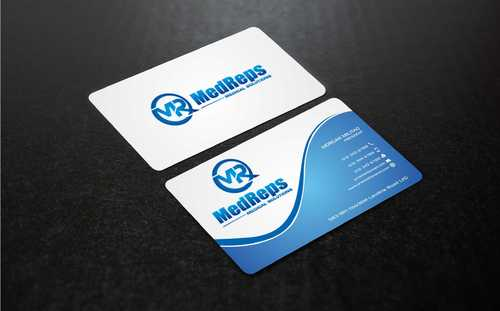 medreps bcards Business Cards and Stationery  Draft # 154 by Dawson