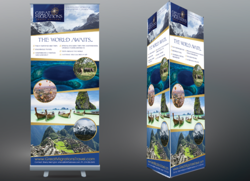 Great Migrations Travel Advisors Trade Show Banner Other  Draft # 33 by egitova