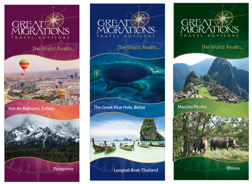 Great Migrations Travel Advisors Trade Show Banner Other  Draft # 36 by mrob21569