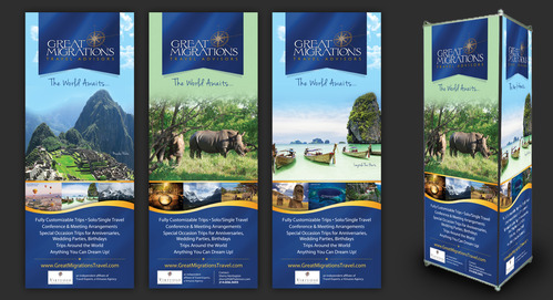 Great Migrations Travel Advisors Trade Show Banner Other  Draft # 37 by september