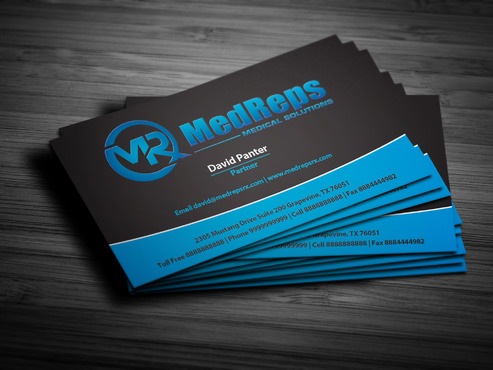 medreps bcards Business Cards and Stationery  Draft # 164 by Polani