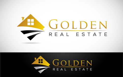 Golden Real Estate A Logo, Monogram, or Icon  Draft # 4 by Stardesigns