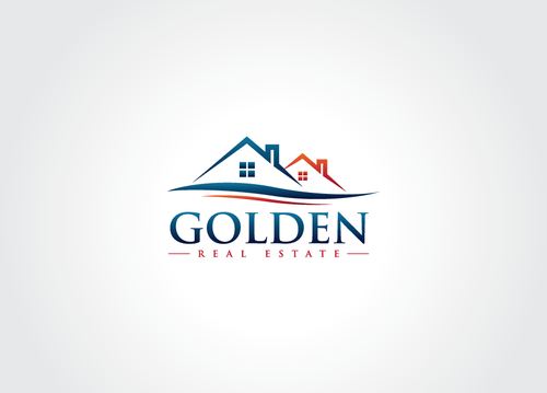 Golden Real Estate A Logo, Monogram, or Icon  Draft # 16 by AxeDesign