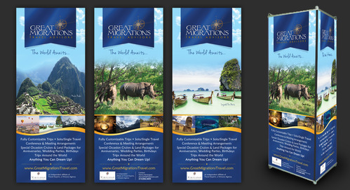 Great Migrations Travel Advisors Trade Show Banner