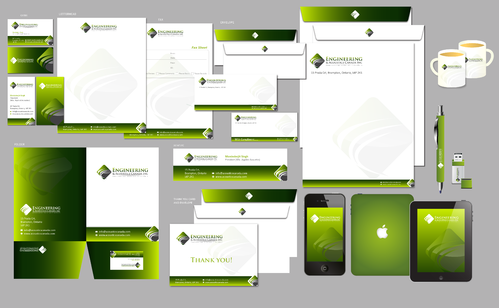 Engineering & Acoustics Canada Inc. Business Cards and Stationery  Draft # 17 by Achiver