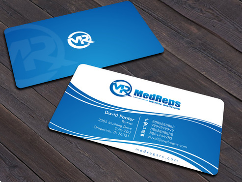 medreps bcards Business Cards and Stationery  Draft # 168 by Xpert
