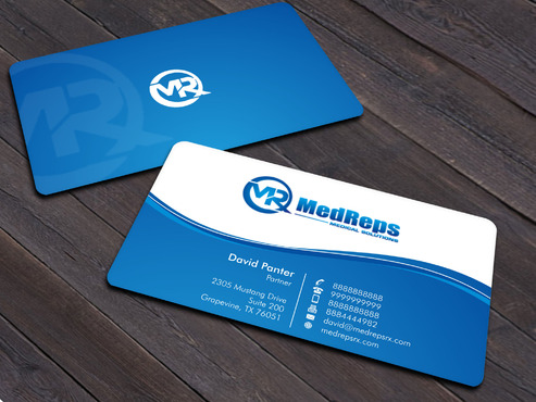 medreps bcards Business Cards and Stationery  Draft # 169 by Xpert
