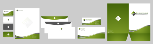 Engineering & Acoustics Canada Inc. Business Cards and Stationery  Draft # 28 by Xpert