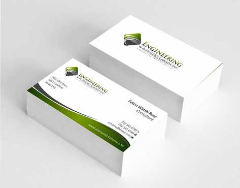 Engineering & Acoustics Canada Inc. Business Cards and Stationery  Draft # 209 by Dawson
