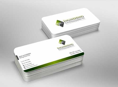 Engineering & Acoustics Canada Inc. Business Cards and Stationery  Draft # 230 by Dawson