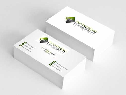Engineering & Acoustics Canada Inc. Business Cards and Stationery  Draft # 232 by Dawson