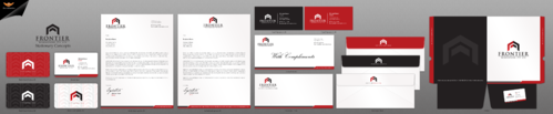 Letterhead, Business Cards, Email Signatures, Envelopes & With Compliments Slips Business Cards and Stationery Winning Design by einsanimation