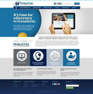 Philotic Technologies Complete Web Design Solution  Draft # 9 by timefortheweb