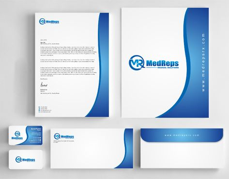 medreps bcards Business Cards and Stationery  Draft # 172 by Dawson