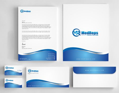 medreps bcards Business Cards and Stationery  Draft # 174 by Dawson