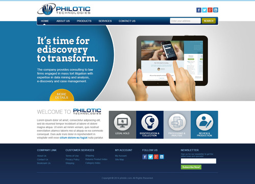 Philotic Technologies Complete Web Design Solution  Draft # 20 by timefortheweb