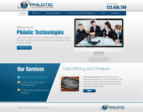 Philotic Technologies Complete Web Design Solution  Draft # 21 by timefortheweb