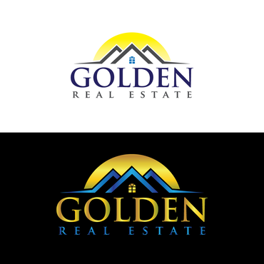 Golden Real Estate A Logo, Monogram, or Icon  Draft # 303 by graphicsB8
