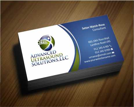 Advanced Ultrasound Solutions Business Cards and Stationery  Draft # 157 by Dawson