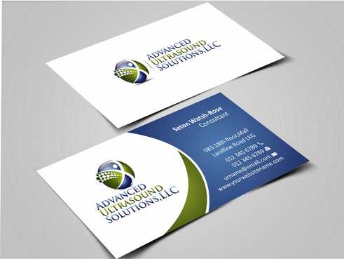 Advanced Ultrasound Solutions Business Cards and Stationery  Draft # 158 by Dawson