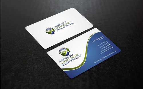 Advanced Ultrasound Solutions Business Cards and Stationery  Draft # 164 by Dawson