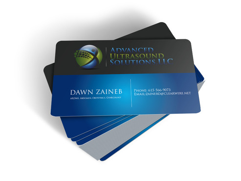 Advanced Ultrasound Solutions Business Cards and Stationery  Draft # 178 by drozariorajib