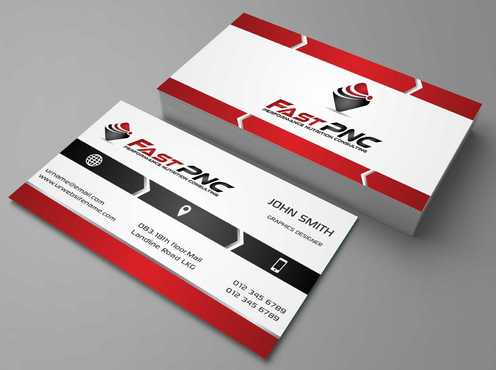 fast pnc Business Cards and Stationery  Draft # 157 by Dawson