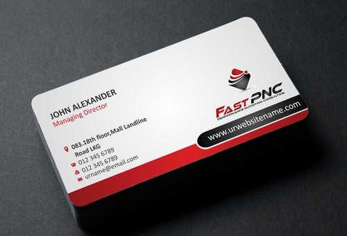 fast pnc Business Cards and Stationery  Draft # 166 by Dawson