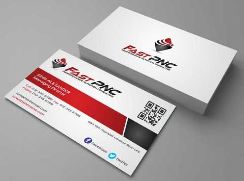 fast pnc Business Cards and Stationery  Draft # 167 by Dawson