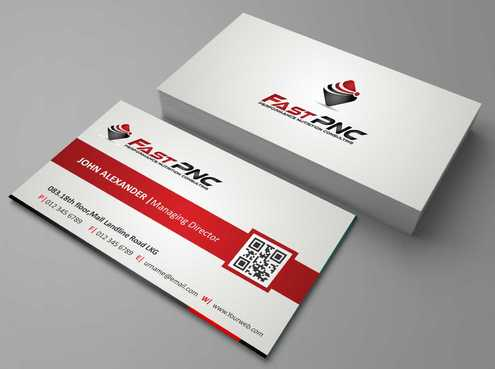 fast pnc Business Cards and Stationery  Draft # 168 by Dawson