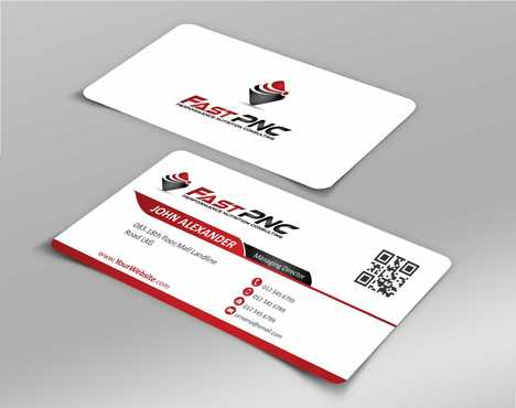 fast pnc Business Cards and Stationery  Draft # 169 by Dawson