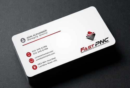 fast pnc Business Cards and Stationery  Draft # 172 by Dawson
