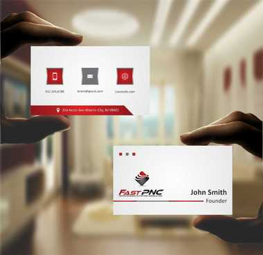 fast pnc Business Cards and Stationery  Draft # 179 by Dawson