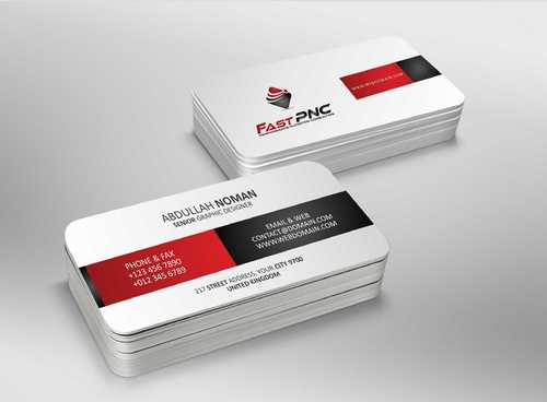 fast pnc Business Cards and Stationery  Draft # 183 by Dawson