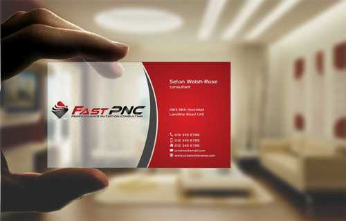 fast pnc Business Cards and Stationery  Draft # 230 by Dawson