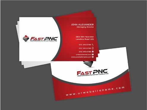 fast pnc Business Cards and Stationery  Draft # 231 by Dawson